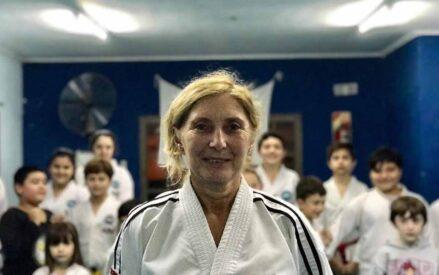 """Patricia Peretti: """"El Taekwondo es algo que me apasiona, encanta y emociona"""""""