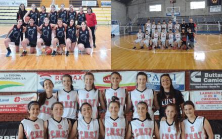 El basquet de CUST sigue dando nota en los federativos U15 y U17